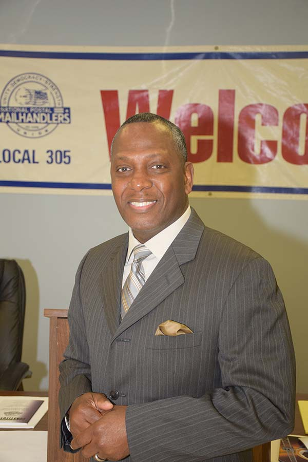 Dwight Burnside Branch President NoVA P&DC