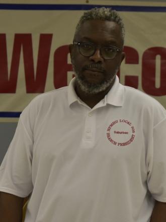 Derrick Carr Branch President, Suburban, MD