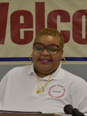 Lori Freeman Southern Maryland Branch President P&DC