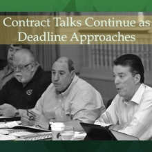 Contract negotiations are in session